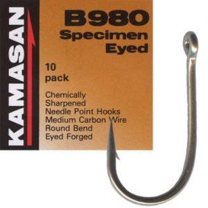 KAMASAN B980 BARBED HOOKS