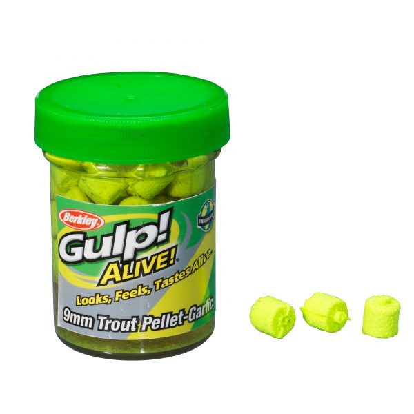 BERKLEY GULP TROUT PELLETS CHARTREUSE